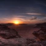 Wadi Rum sunset - Jordan