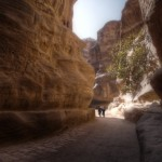 As-Siq valley in Petra - Jordan