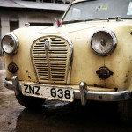 Austin A30 in Stone Town