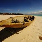 Boat at Kendwa beach – Zanzibar