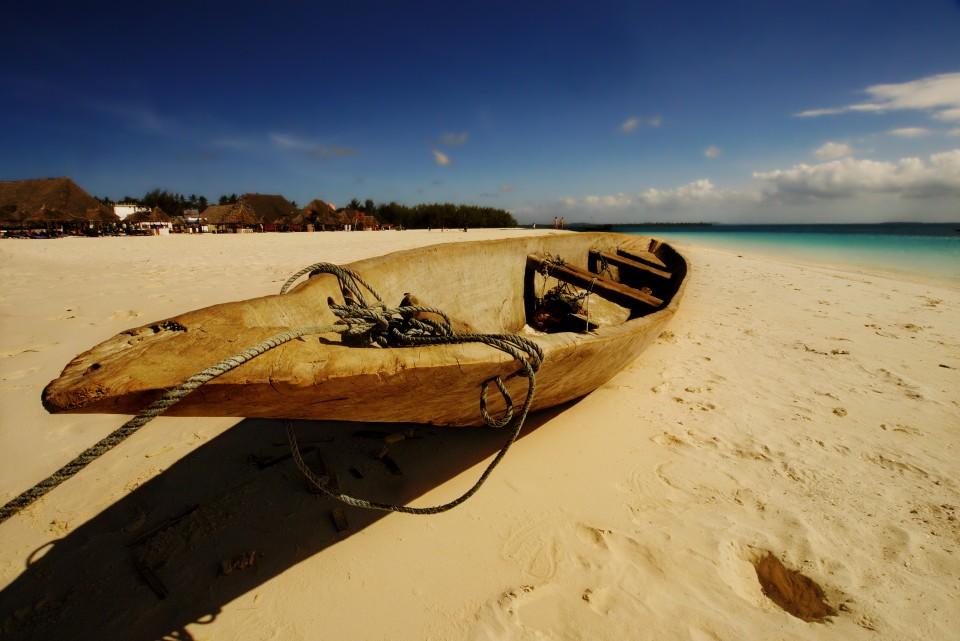 Boat at Kendwa beach – Zanzibar, Tanzania