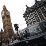Black taxi - London