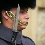 Guard at Tower of London